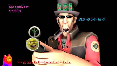Mlg Sniper By Deadliestduckling On Deviantart