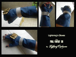 Lightning's Gloves (NEW VERSION) by LightningTheArtist