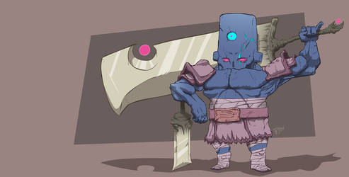 Arcane Samurai by polwalker