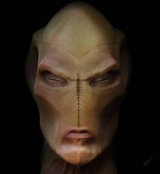 Alien Expression by NunoRebelo