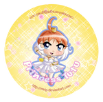 Princess Tutu Button by Meip