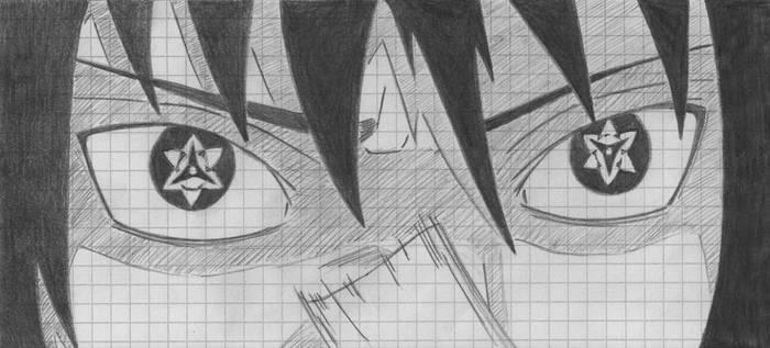 Eternal Mangekyou Sharingan Sasuke By Nightmare333 On Deviantart
