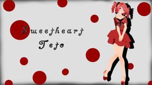 [MMD] Sweetheart Teto +Download by EvergreenGem