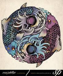 Yin Yang Tatttoo by Sam-Phillips-NZ