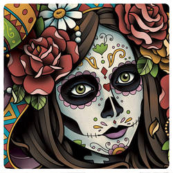 Day Of the Dead Girl by Sam-Phillips-NZ