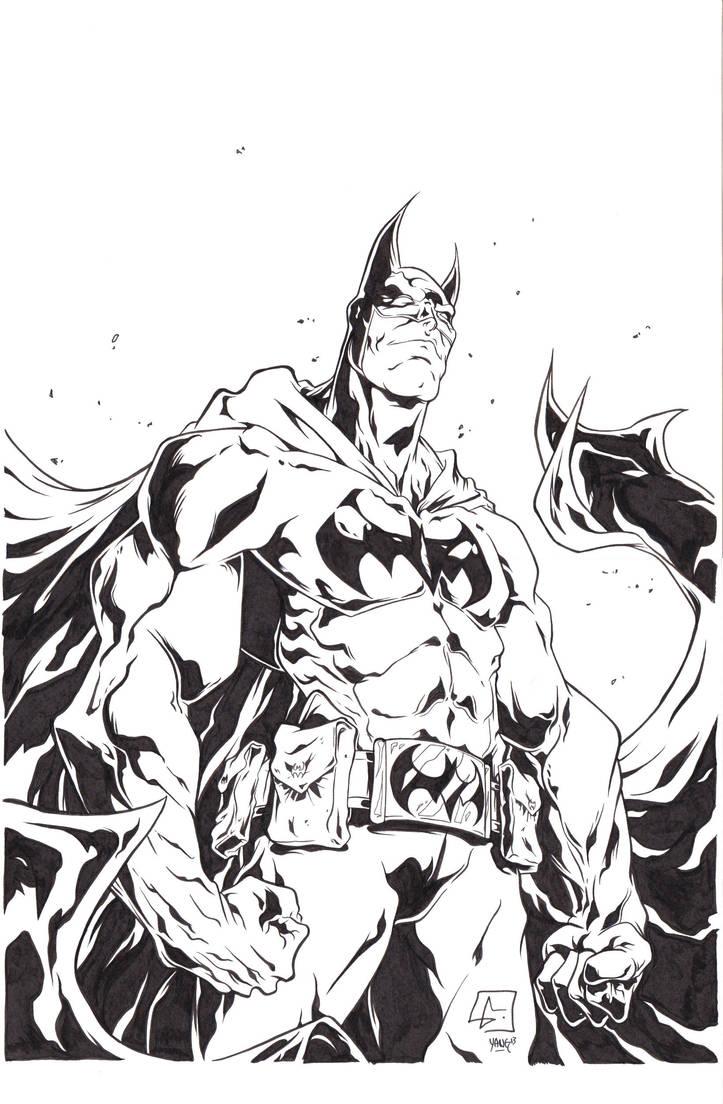Batman Ink by Yangsberg