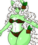 My Mint ice cream slime catgirl, Minto by Sephy90