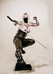 cosplay Ninja by luckyshotspeed
