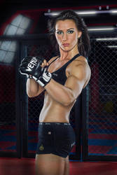 MMA Girl by JaveCz