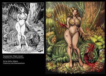 Cavewoman: Roam Cover by lizzbuenaventura