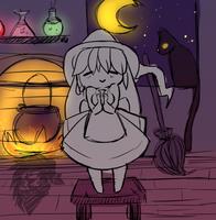 [OPEN] Chibi Witch Halloween YCH by InsaneNicky