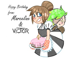 Made a card for anybody's bday by InsaneNicky