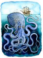 The Kraken by Loneanimator