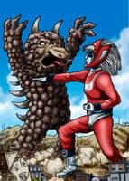 Godman vs Tsunosilver by Loneanimator