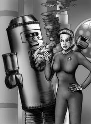 7 Of 9 vs Satan's Robot by Loneanimator