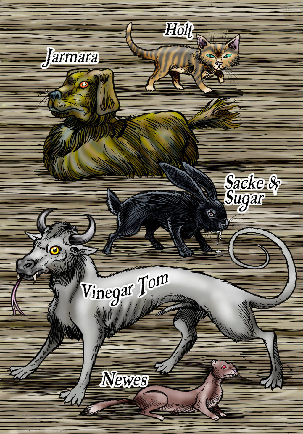 The Names of My Imps Are.. by Loneanimator