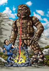 Stone Canyon Giant by Loneanimator
