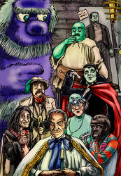 The Hilarious House of Frightenstein by Loneanimator