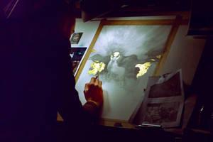 The Forgotten Gods... Work in progress 2... by Yoann-Lossel