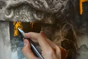 The Forgotten Gods... Work in progress 4 by Yoann-Lossel