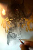 Eros et Thanatos... Work in progress 2... by Yoann-Lossel