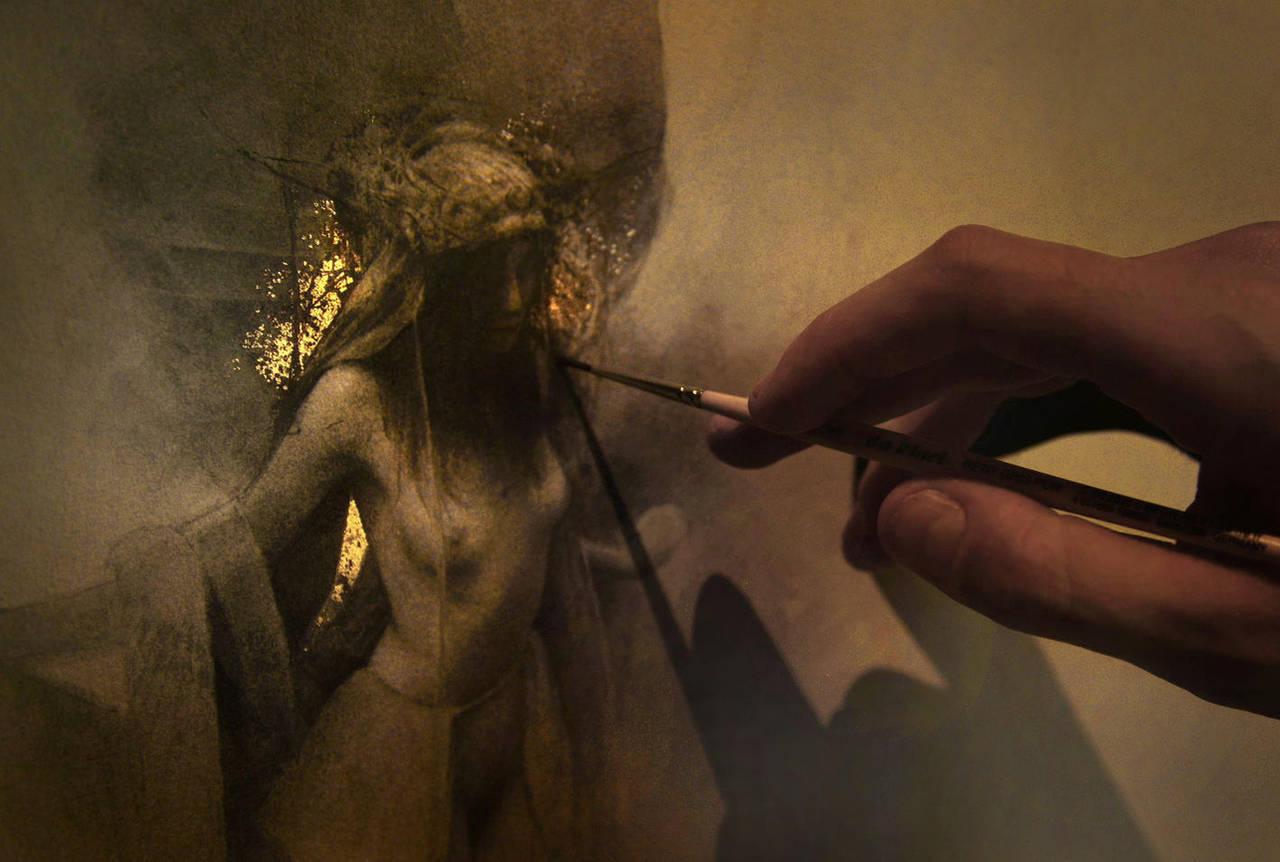 The Rise... Work in progress 1... by Yoann-Lossel