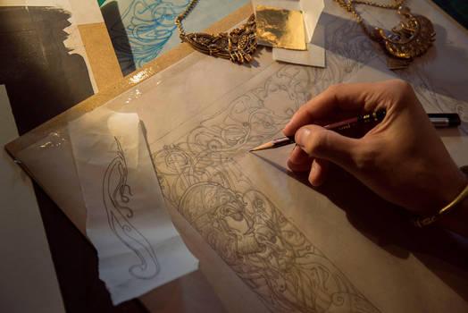 Beowulf... work in progress 1... by Yoann-Lossel