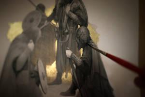 Beowulf... work in progress 4... Grendel's Mother by Yoann-Lossel