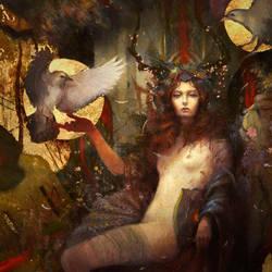 La Morrigan by Yoann-Lossel