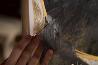 L'Antichambre - Work in progress 2... Dharma Bums by Yoann-Lossel