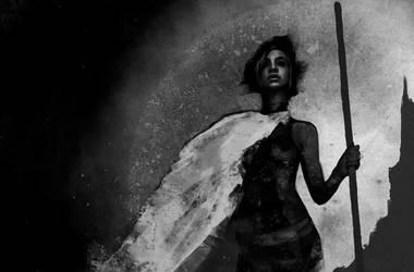 WIP - Vampire: The Masquerade - Fatima al-Faqadi by Z-GrimV