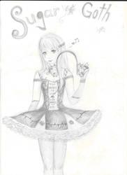 I like my sugar goth, thanks by CristinaRareDamphire