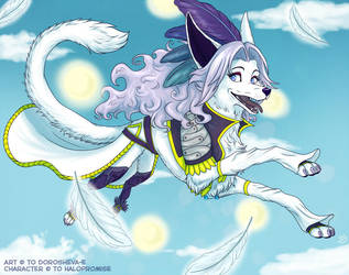 CM - Kuja and sky by Do-El