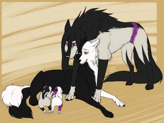 CM - Orochimaru x Shadow family by Do-El