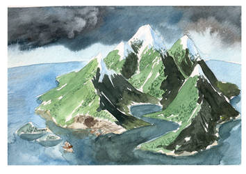 My personal Island by CheshFire