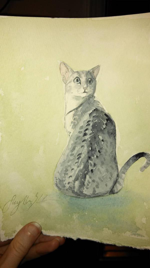 Egyptian Cat by CheshFire