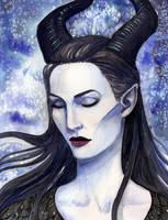 Maleficent by CheshFire