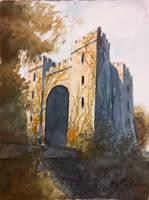 Irish Castle Green by CheshFire