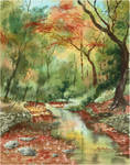 Autumn Creek by CheshFire