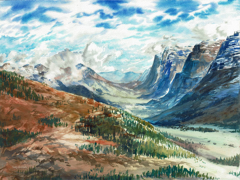 Swiss Alps by CheshFire