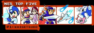Kaigetsudo's NES Top Five by Kaigetsudo