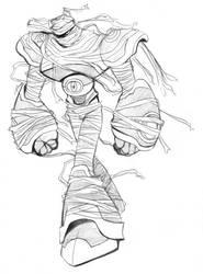 Sand Jackal Sketch by Kaigetsudo