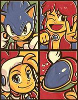 Sega Stars by Kaigetsudo