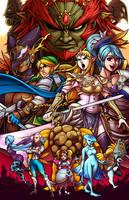 Zelda - Hyrule Warriors by Kaigetsudo