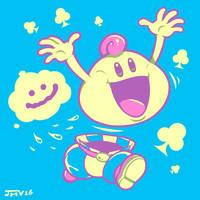 Super Mario RPG - Mallow by Kaigetsudo