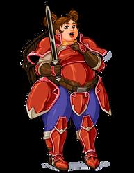 Fire Emblem: Radiant Dawn - Meg by Kaigetsudo