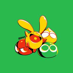Puyo Puyo - Carbuncle by Kaigetsudo