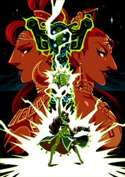 Breath of The Wild - Gerudo Legacy by Kaigetsudo