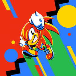 Knuckles The Echidna by Kaigetsudo