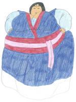 Obese Mulan by iliowahine